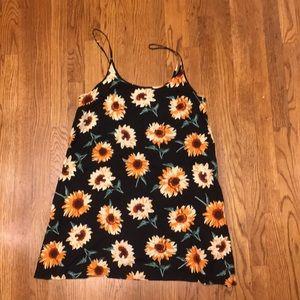 70s Sunflower Dress